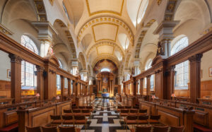St Brides interior
