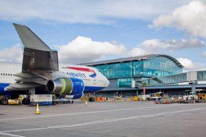 Arrival at Heathrow Dancing King